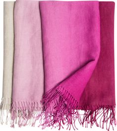 Padua Magenta Throw - Designers Guild - $280.00 - domino.com