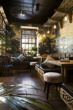 Kobe restaurant in Odessa, Ukraine by Studio Belenko