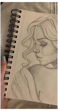 girl drawing glasses