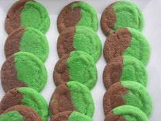 St. Patrick's Day Marble Cookie Recipe
