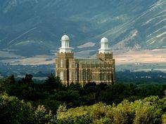Logan Utah Temple. The Church of Jesus Christ of Latter-day Saints (LDS, Mormon). 002. Dedicated May 17, 1884. Rededicated Mar 13, 1979.