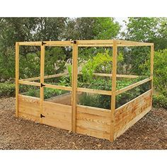 Make gardening much easier on yourself and ensure that you will be the one enjoying the 'fruits' of your labor instead of deer rabbits or other critters with the Gardens to Gro 8 x 8 Deer Proof ...