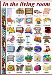 Attractive Living Room Furniture Vocabulary List Ideasidea Part 30