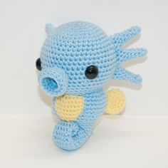 Horsea by Heartstringcrochet.deviantart.com on @DeviantArt