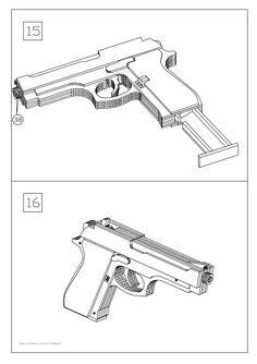Free tutorial! Build a simple blowback rubber band gun