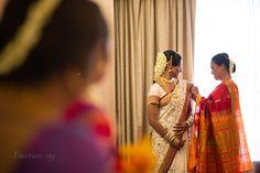 Hindu Telugu Wedding Ceremony at Bangunan Peladang: Praveen + Megala http://www.emotioninpictures.com/hindu-telugu-wedding-petaling-jaya-praveen-megala