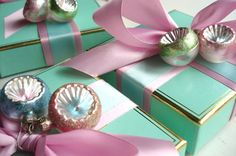 Wrapped Hostess Gifts by such pretty things, via Flickr