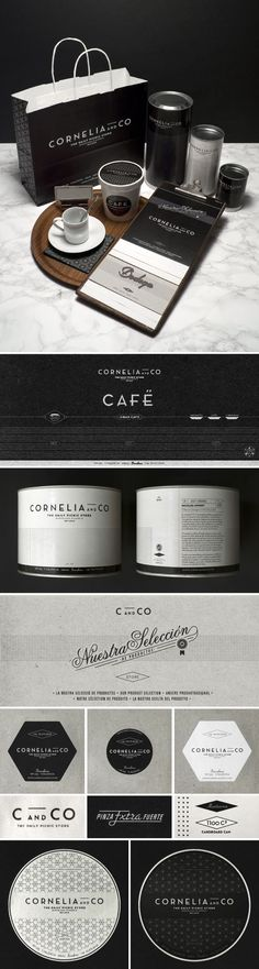 Brand and Package Design by Oriol Gil for Cornelia and Co. All the elements together for #packaging #branding #marketing PD