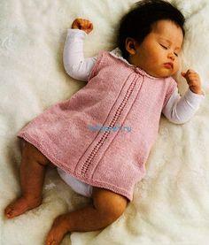 Вязание для малышей платья - ХитсоветХитсовет