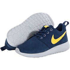 on sale a5542 bf921 Nike kids roshe run little kid big kid brave blue wolf grey laser orange