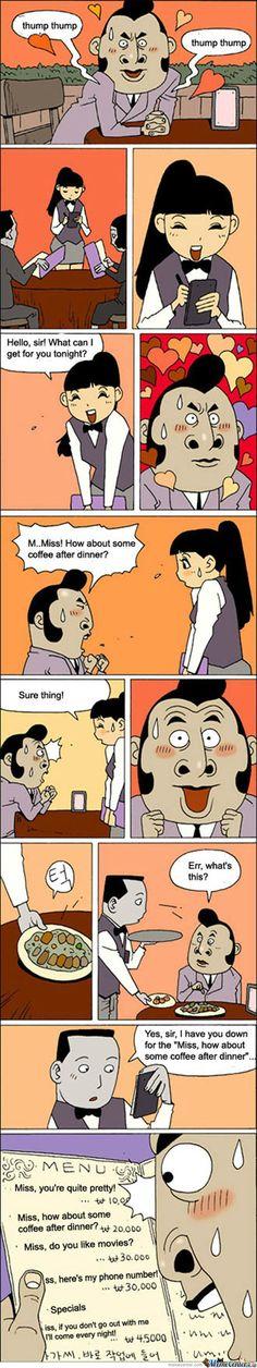 Funny Korean Comic