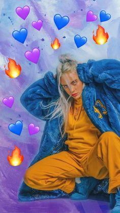 Pin by simar kalra on billie eilish in 2019 Billie Eilish, Funny Videos, Heart Meme, Cute Love Memes, Kawaii, Melanie Martinez, Disney Wallpaper, Ariana Grande, My Girl