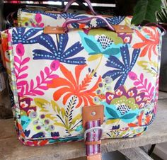 Love this bag!!!! print & pattern: PAPERCHASE - store snaps