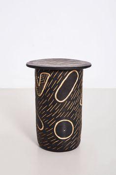 Ngwedi (Moon) Stoneware clay 33 x 33 x 50 cm Unique series of 10