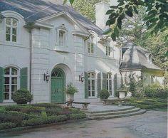 beautiful home..love the door/shutters