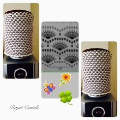 Water Dispenser Cover (Crochet) -- Tutup galon rajut