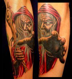 wizards tattoo | wizard Wizard Tattoo
