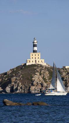 Lighthouse, Villasimius, Sardinia, Italy- by Cecco80
