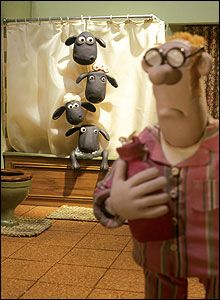 Love Shaun the Sheep cartoons...looked all over England and finally found a Shaun bobble head!