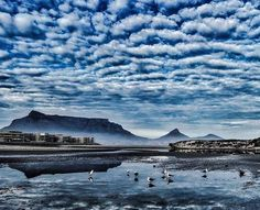 Clouds above Table Mountain - Cape Town Table Mountain Cape Town, Beach Tops, Beautiful Places In The World, Wonders Of The World, South Africa, Trip Advisor, The Good Place, Surfing, Clouds