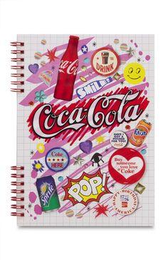 Primark - Cahier A5 Coca-Cola