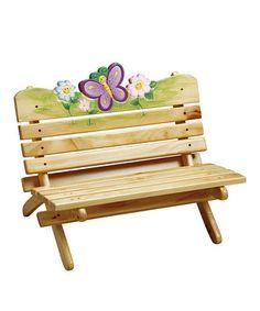 Magic Garden Outdoor Bench