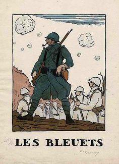 Peindre la guerre - Grande Guerre : territoriaux bretons et normands du 87 DIT