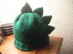 The Knit Ninja: Dino Spikes Knitting Pattern