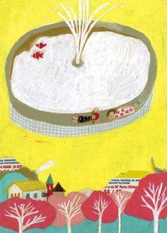 Artwork by Keiko Shibata.