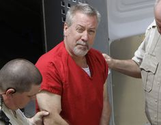 In this May 8, 2009 file photo, former Bolingbrook, Ill., police sergeant Drew Peterson arrives at the Will County Courthouse in Joliet, Ill., for his arraignment on charges of first-degree murder in the 2004 death of his former wife Kathleen Savio, who was found in an empty bathtub at home. Peterson's wisecracking, limelight-hogging, sunglasses-wearing lawyers faced the media horde every day of the former suburban Chicago police officer's 2012 trial — one that ended with a murder…