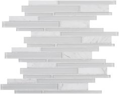 Stripe in shower.  Soho Glacier, Soho Cloud, or Soho Silver. Possibly in that order. This would go with any of the tile options.