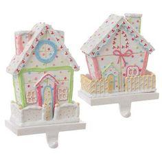 RAZ House Christmas Stocking Holder #lillyholiday