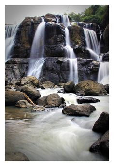 Malela waterfall West Java #Indonesia