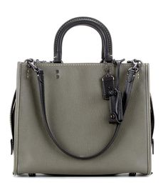 00aaa3f3eff0 COACH Rogue Leather Tote.  coach  bags  shoulder bags  hand bags  suede   tote  lining