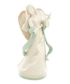 Another great find on #zulily! Angel 'Peace Is Always Beautiful' Figurine #zulilyfinds