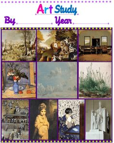 Free Art Curriculum and Homeschool Notebooking Pages for 1st grade   Tina's Dynamic Homeschool Plus