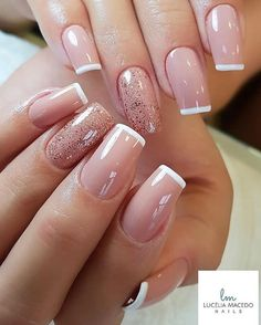 Its time for vibrant colors in your wardrobe, hair and nails! Hence we have some Pretty Nail Art Designs for Summers 2020 that you can pull off in style. Ombre Nail Designs, Toe Nail Designs, Nails Design, French Gel, French Nails, French Polish, French Manicures, Nailart, Bridal Nail Art