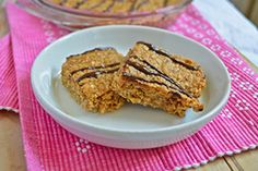Recipe for peanut butter flapjacks made with coconut oil and honey instead of butter and syrup. These oaty squares are sweet, rich and delicious.