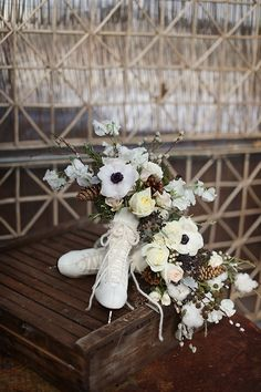 Spotlight: Splendid Wedding Floral Designs by Sullivan Owen - bridal bouquet.  Alison Conklin