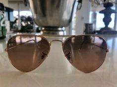 e81873302822 AUTHENTIC RAYBAN Rose Gold AVIATOR SUNGLASSES BRAND NEW IN CASE RRP $260  #fashion #clothing #shoes #accessories #womensaccessories ...