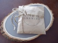 Love is Brewing Wedding Favor by PiperLovesOllie on Etsy, $115.00