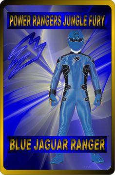 Blue Jungle fury Ranger by rangeranime on Power Rangers Fan Art, Power Rangers Jungle Fury, Power Rangers Ninja Storm, Mighty Morphin Power Rangers, Power Rengers, Armor Of God, Traditional Outfits, Jaguar, Iron Man