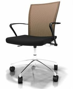 The Mayline Valore series height adjustable mesh back task chair is the ideal choice for contemporary work areas. This exclusive new Mayline chair collection is available in several unique fabric and mesh back combinations. Office Chair Back Support, Small Office Chair, Comfortable Office Chair, Best Office Chair, Home Office Chairs, Home Office Furniture, Office Desk, Upholstered Desk Chair, Chair Upholstery
