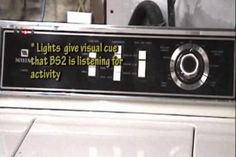 [Micha's] washing machine is equipped with a rather inaccurate timer, so it is always difficult to estimate when the load will be finished. Send Text Message, Text Messages, Visual Cue, Weird Gif, Weird Science, Trivia, Weird Videos, Washing Machine, Connection