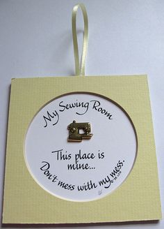 My Sewing Room by PenCraftbyLinda on Etsy, $8.00