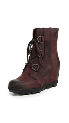 56c50246f9d Joan of Arctic Wedge II Boots by Sorel in Ash Brown