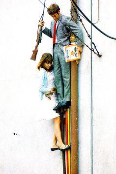Pierrot Le Fou (1965) « - Qu'est-ce qu'on fera? – Rien, on existera. – Olala, ça va pas être marrant. – C'est la vie. »