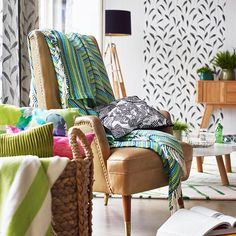 Esprit Damesmode kopen in de online shop Esprit Home, Interior Styling, Interior Design, Wingback Chair, Neue Trends, Interior And Exterior, Accent Chairs, Sweet Home, Inspiration