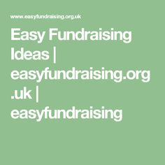 Collect free donations for charities and good causes every time you buy online. Easy Fundraising, Sports Clubs, Shopping