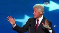 Bill Clinton speaks at the 2012 DNC (C-SPAN) - Full Speech, via YouTube.